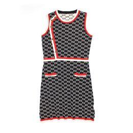 $enCountryForm.capitalKeyWord UK - G Letter Print Dress High-end Sleeveless Round Neck Asymmetric Skirt Outdoor Nightclub Party Focus Designer Dress Free Shipping