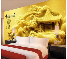 $enCountryForm.capitalKeyWord Australia - custom size 3d photo wallpaper bedroom 3d wall mural jade carving building Chinese picture sofa TV backdrop wallpaper non-woven wall sticker
