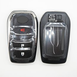 $enCountryForm.capitalKeyWord Australia - Original 4Buttons 433MHz Smart Remote Control Key Intelligent with 8A chip for Toyota Fortuner Free Ship