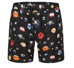 Satin Boxer Shorts Australia - Tide brand 19 summer new quick-drying little  monster eyes 75ad350f6a