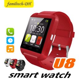 $enCountryForm.capitalKeyWord Australia - Hot Bluetooth Smart Watch U8 Wrist Smartwatch for iPhone 4 4S 5 5S 6 6S 6 plus Samsung S4 S5 Note 2 Note 3 HTC Android Phone Smartphones