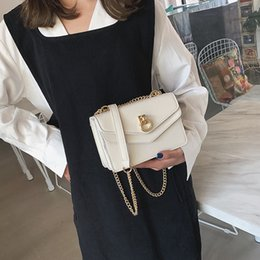 Luxury Chains Australia - Luxury Designer Crossbody Bags Chain Female Shoulder Bag simple small flap bag womens handbags and purses Fashion Solid Handbag