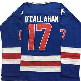 $enCountryForm.capitalKeyWord Australia - Cheap wholesale Jack O'Callahan Hockey Jersey 1980 Miracle On Ice Team USA Sewn Hockey Jersey Customize any name number Hockey Jersey X