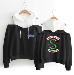 2428329bc5 Off white black hOOdie online shopping - Riverdale South Side Serpents Hoodie  Sweatshirts SouthSide Funny Cartoon