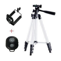 camera flexible tripod 2019 - Smartphone Adjustable Tripod With Clip Holder Bluetooth Remote Control Self-Timer Professional Flexible Tripod For Dslr