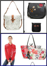 Spain bagS online shopping - 2019 Inclined bag embroidered shoulder messenger spain bag European style women