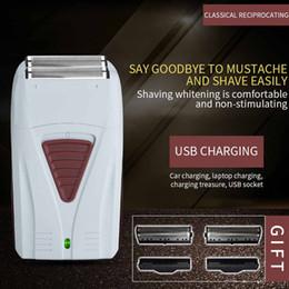 $enCountryForm.capitalKeyWord Australia - Reciprocating Hair Shaver Trimmer Razor Hair Clipper Electric Shaver Machine Cutting Beard Barber Razor For Men Style Tool SH190729