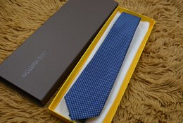 Branded ties online shopping - New luxury tie brand silk ties high quality tie business tie narrow edition original packaging box High quality hot seller style L8806