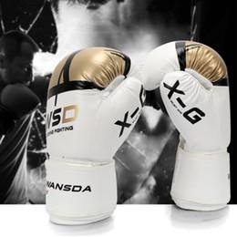 $enCountryForm.capitalKeyWord Australia - Boxing Gloves For Kids PU Free Combat Fighting Sports Wearable Breathable For Muay Thai Training MMA Karate Taekwondo Black