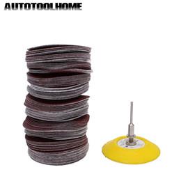 "$enCountryForm.capitalKeyWord Australia - Abrasive Tools 101pc set 75mm Sanding Disc Sander Disk 60-800 Multi Grit Sandpaper with 3\"" Backing Plate For Dremel Accessories Abrasive..."