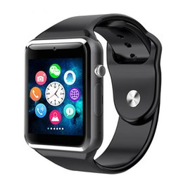 Smart Watches For Windows Australia - A1 smart watch 1.5-inch color screen card card Bluetooth call sleep monitoring sports step watch sedentary reminder FOR: IPHONE Samsung