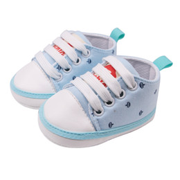 $enCountryForm.capitalKeyWord Australia - Baby First Walkers Toddler Infant Print Shoes For Girls Spring Autumn Kids Soft Sole First Walkers Casual Canvas Shoes