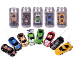 control cars toys NZ - Multi-color Hot Sales Remote Control Car Coke Can Mini RC Car Radio Remote Control Micro Racing Car Toy For Kid Christmas gifts
