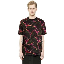 2f2399570cad Flash Birds UK - Chinese style summer short-sleeved limited edition  paradise bird print cool