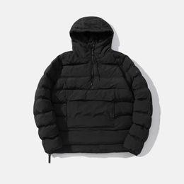 Wholesale mens sport style jackets for sale – winter Unisex Womens Mens Oversize Casual Designer Coat Brand Jacket Luxury Cotton Padded Jacket Colors Half Zipper Pocket Sport Style A B103151Z