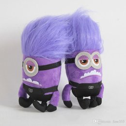 purple minions Australia - Despicable Me 2 Purple Minions Stuffed Animals Doll 20CM Minions Plush Doll Toys Best Gifts For Kids