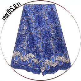 $enCountryForm.capitalKeyWord Australia - Best Selling Swiss African Lace Fabric Wedding Dress Latest Lace Fabric 2019 Blue Aqua French Lace Fabric With Beads And Stones