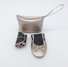 $enCountryForm.capitalKeyWord Australia - Sell well 2019 Women's Foldable Rescue Ballet Flat Shoes with Expandable Tote Bag