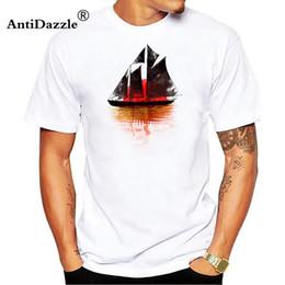 $enCountryForm.capitalKeyWord Australia - New Sail Boat Fashion Print T-shirt Casual Fashion Brand Clothing Hip Hop Fitness Men's Cotton O-neck T-shirts Funny Tops