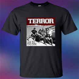 2c9108345 Terror Band Live By The Code Album Cover T-Shirt Cool Short Sleeve Men T  Shirt Cheap Price 100 % Cotton Tee Shirts