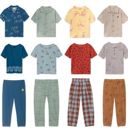 $enCountryForm.capitalKeyWord NZ - Kids Clothing Set 2019 Spring Summer Bobo Choses Boys Girls Tee T Shirt Pants Baby Top Shirt Trousers for Kids Children Clothes