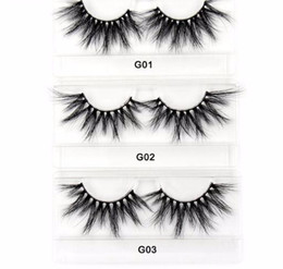 $enCountryForm.capitalKeyWord Australia - 2019 Eyelashes 3d False Eyelash Large Criss-cross False Eyelashes 25mm Hand Made fashion Lashes Makeup