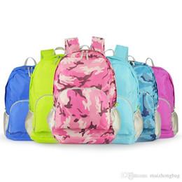 $enCountryForm.capitalKeyWord Australia - Foldable Skin Sport Bag Travel Mountaineering Bags Waterproof Outdoor Portable Backpack Men And Women Large Capacity Shoulder Bag