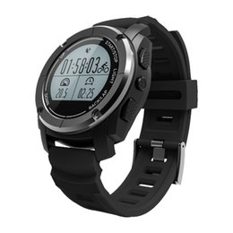 Water Resistant Gps UK - Outdoor Smart Watch GPS BT Heart Rate Monitor Water Resistant Pedometer Speed Wristwatch Smartwatch