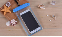 new touch cell phones 2019 - Luminous Waterproof Cell Phones Suit All Style Transparent touch screen new Clear underwater photo swimming PVC cheap ne