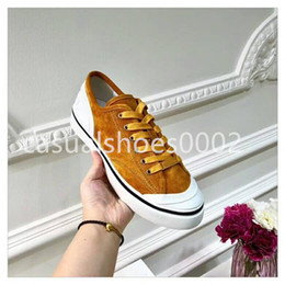 $enCountryForm.capitalKeyWord Australia - The latest women's fashion canvas casual shoes high quality beautiful platform designer shoes colorful string label jelly rainbow sole A16