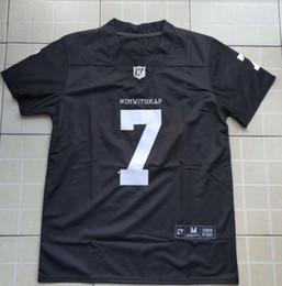 b2831a708 Imwithkap Football Jersey 7 Colin Kaepernick I m With Wap American Football  Jersey Stitched Men S-3XL Free Shipping