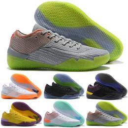 de7bff115e5 Mens Kobe Basketball Shoes Australia - Kobe AD NXT 360 React Mamba Day  MultiColor Yellow Strike