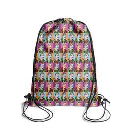 $enCountryForm.capitalKeyWord UK - Freddie Mercury ColorfulFashion sports belt backpack, design pop personalized reusable string package, suitable for school