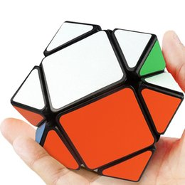 Magic Gifts Australia - Hot selling Puzzle cube Children education toys Sticker Oblique magic cube Good Gift Toy Decompression Toys