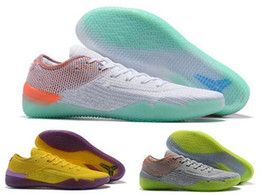 2b192e2c94ab NEW 2018 Kobe 360 AD NXT Yellow Orange Strike Derozan Basketball Shoes Cheap  AAA+ quality Mens Trainers Wolf Grey Purple Sneakers Size 7-12