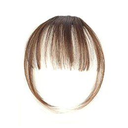 $enCountryForm.capitalKeyWord UK - Girl Hair Air Fringe Bang with Hairs on the Temple Women Front Neat Bangs with Clip In Girl Hair Extensions Piece W7789-1