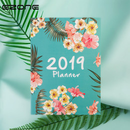 $enCountryForm.capitalKeyWord Australia - EZONE 2019 Flowery Weekly Journal Notebook Floral Plan Agenda Stationery A4 Note Book Personal Diary Students School Supplies