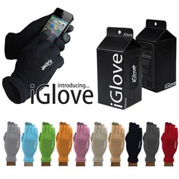 Iglove screen touch online shopping - Unisex iGlove Touch Screen Gloves Telefingers Gloves Multi Purpose Winter i Gloves with retail box For iphone x samsung s9 s8 s7