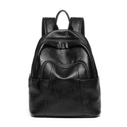 $enCountryForm.capitalKeyWord Australia - Real Genuine Soft Leather Fashion Larege Capacity Backpack Little Bear Pendant Decoration Women Girls Ladies Love Back Pack bags