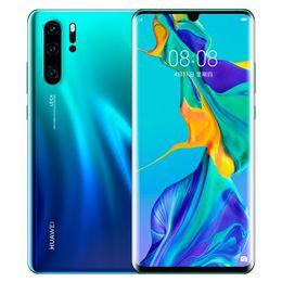 """Оригинал Huawei P30 Pro 4G LTE Сотовый телефон 8 ГБ оперативной памяти Kirin 980 Octa Core Android 6.47 """"полноэкранный 40.0MP OTA отпечатков пальцев ID смарт-мобильный телефон на Распродаже"""