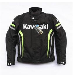 $enCountryForm.capitalKeyWord Australia - Windproof Waterproof Motorcycle Racing Jacket For Kawasaki Oxford Cloth Moto Jackets With Removable Liner