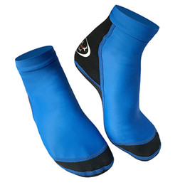 $enCountryForm.capitalKeyWord Australia - DIVE SAIL 1 pair Elastic   Light   Soft Non-slip Diving Scuba Beach Socks Neoprene Warming Snorkeling Socks Swimming Boot Sock