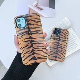 iphone tiger hard case UK - Shockproof Hybrid Dual Layer Tiger Print Glossy Hard Case For iPhone 11 Pro Max 6 6S 7 8 Plus X XR XS Max