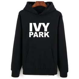 15d915f6 Discount beyonce print - Beyonce IVY Park Fashion Theme Winter Men Hoodies  Sweatshirts Set Sleeve Letters