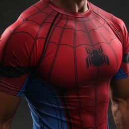$enCountryForm.capitalKeyWord NZ - New 2018 Batman Spiderman Ironman Superman Captain America Winter soldier Marvel T shirt Avengers Costume Comics Superhero mens
