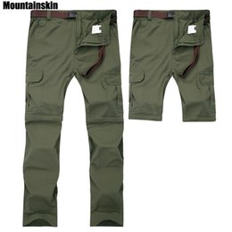 1973ec84d85c Mountainskin 7xl Men s Summer Quick Dry Removable Pants Breathable Trousers Outdoor  Sports Hiking Trekking Fishing Shorts Va110 C19041201