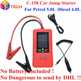 $enCountryForm.capitalKeyWord NZ - 3PCS DHL Powerful C-158 12V Car Battery Jump Starter C158 Engine Emergency Battery Charger Power Bank Starter ForGasoline Diesel
