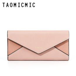 $enCountryForm.capitalKeyWord Australia - Women wallet designer 2019 new buckle long wallet Fashion tri-fold mobile phone Multi-function matte ladies' purse