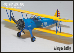 plane kit epo Australia - NEW EPO RC plane RC HOBBY 1200mm wingspan Stearman PT-17 Airplane PT17 400 CROSS RC MODEL PLANE (have kit set or PNP set )