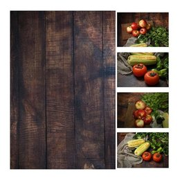 Paper Photography Backdrops Australia - 56*90cm   22*35in Double Sides Wood Marble Cement Wall Like Vintage Photography Background Backdrop Paper Board Prop For Food